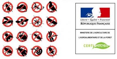Certibiocide nuisibles Paris 75 et IDF